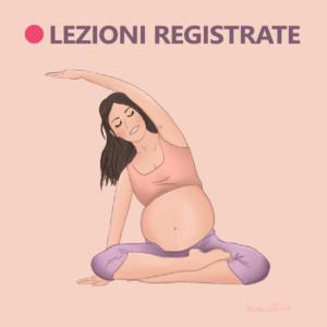 immagine lezioni registrate yoga in gravidanza